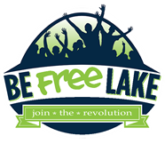 Be Free Lake logo